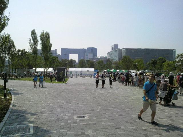 お台場ガンダムプロジェクト2011 会場